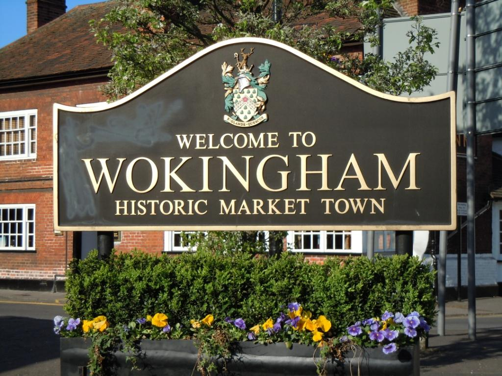 Welcome to Wokingham Sign